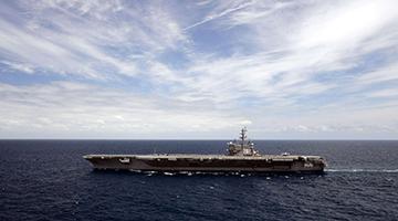 """美国航母再进南海,这次想要""""拿""""到什么?"""