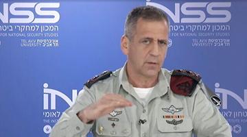 """以色列最高将领公开警告美国 """"非常罕见"""""""