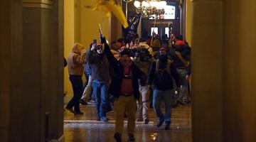 美国FBI锁定逾400名国会暴动疑犯