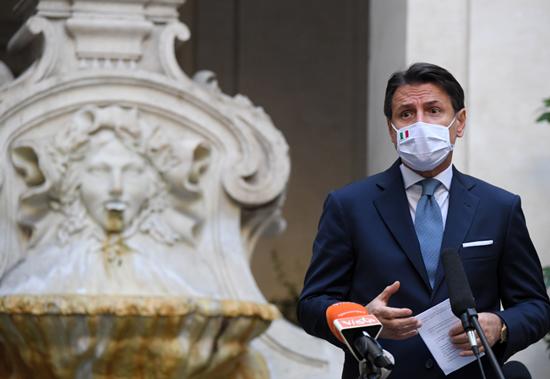 Italian Prime Minister Robert Conte resigns