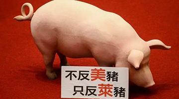 """""""莱猪""""会不会通过台湾流入大陆市场?国台办回应"""