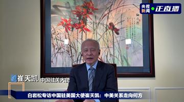 驻美大使崔天凯:美国最该恢复的是大国的样子