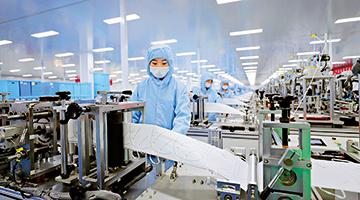 香港山东联手抗新冠病毒纳米布实现量产 可反覆佩戴使用