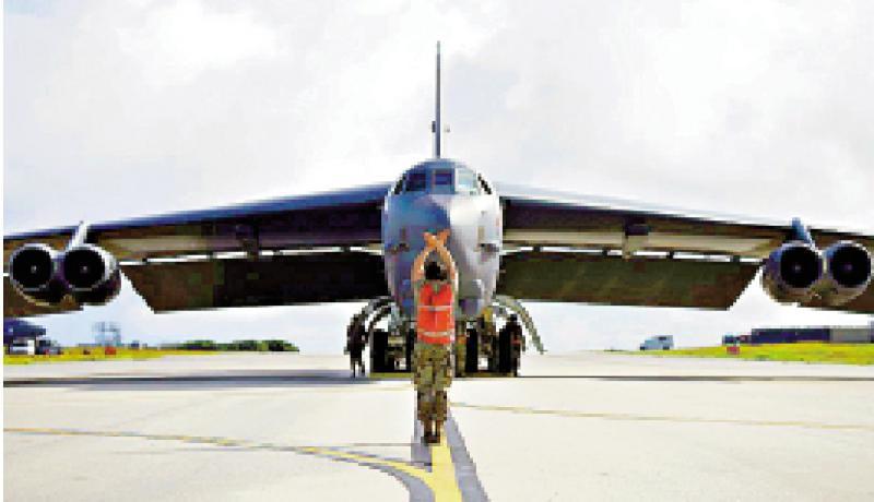 加大戰略威懾 美轟炸機部署關島