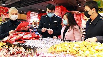 江西新建区:节前检查市场 保供稳价