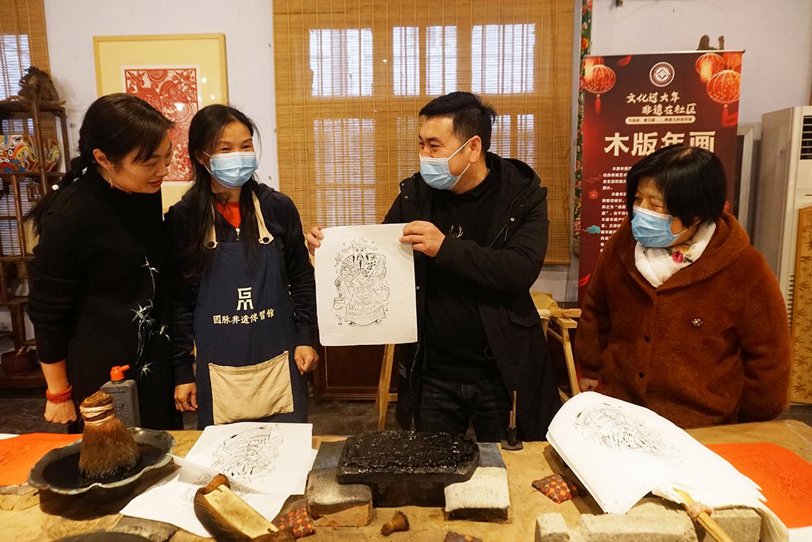 郑州:文化过大年 非遗在社区 唤醒儿时年味