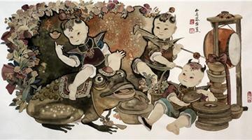 《福牛迎新春·送祥瑞》著名画家金格格
