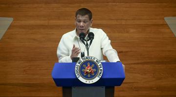杜特尔特:希望现场见证中国捐赠疫苗抵达菲律宾