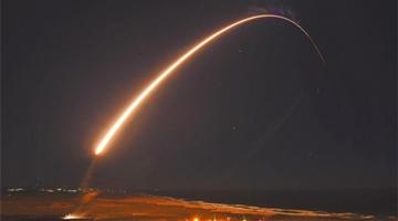 境外媒体:拜登上任后首次试射洲际导弹