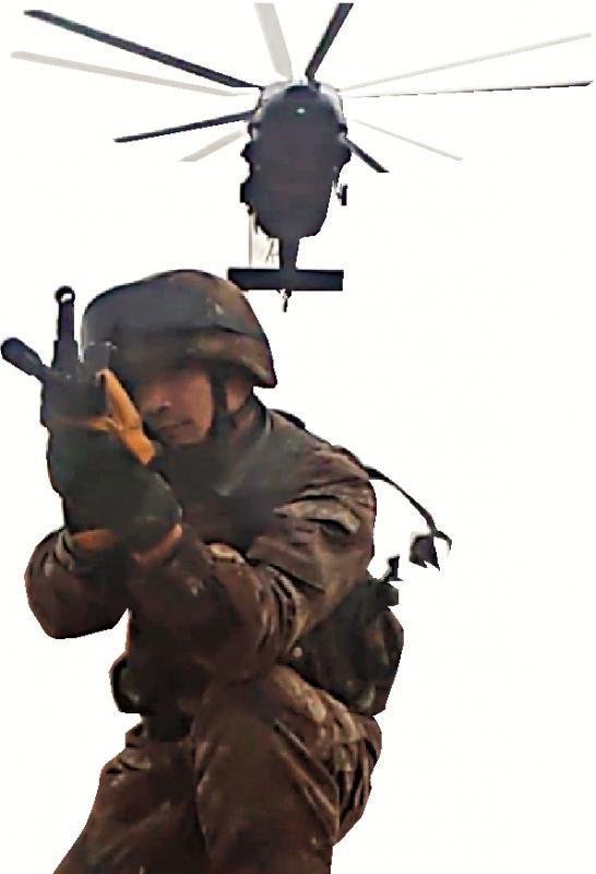 ?解放军近期演练