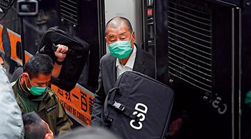 黎智英8.18非法集结案 警方:从未为非法游行开路