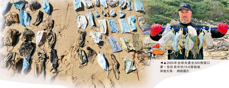 亟需解决/废弃口罩 漂洋过海 流落香江