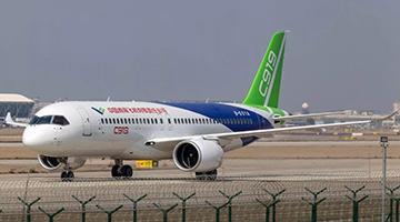 C919客机全球首单正式落地!年内交付首架