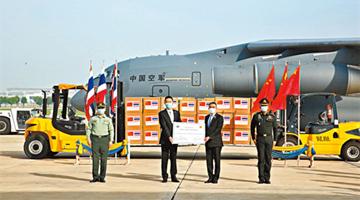 国防部:中国军队已向50国军队提供防疫物资