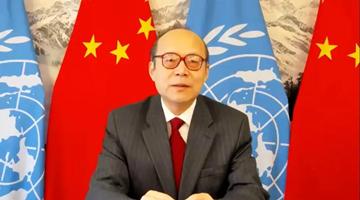 """""""香港国安法:由乱及治的转折""""主题视频边会举行"""
