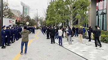 日本民众举行示威活动要求取消东京奥运会