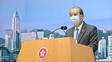 张建宗:完善香港选举制度理所当然刻不容缓
