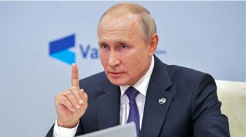 普京致信伊朗最高领袖哈梅内伊 谈加强俄伊关系