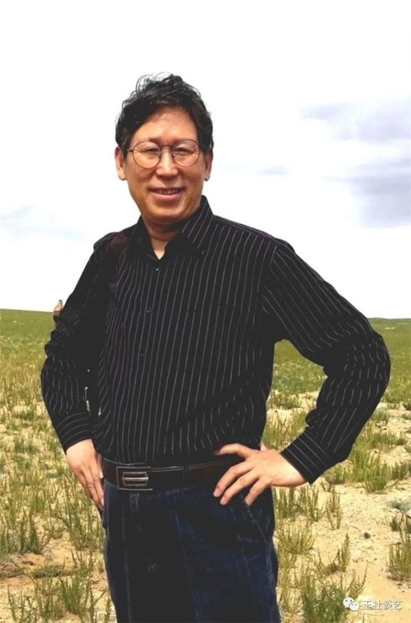 品读名家刘玉社的新疆大山水