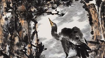 中国当代大写意花鸟画名家:伯揆