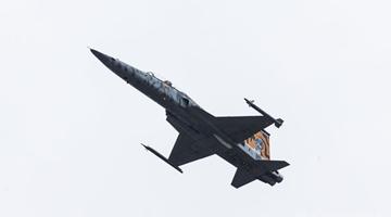 台F-5E战机坠海 当地村民:听到巨响如导弹试射