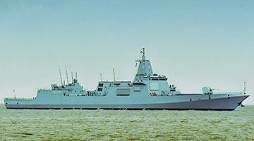 国防部:055型驱逐舰拉萨舰正式加入中国海军序列