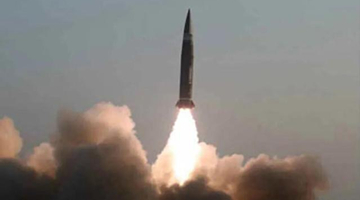 朝鲜宣布进行新型战术制导导弹试射