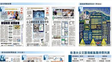 全港第一!大文集团勇夺2020香港最佳新闻21项奖