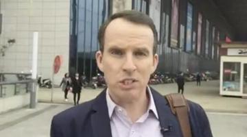 "BBC记者""不辞而别"" 英学者连发5条推文痛批"