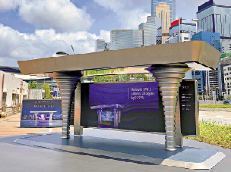 ?空气淨化系统2.0 化身巴士站