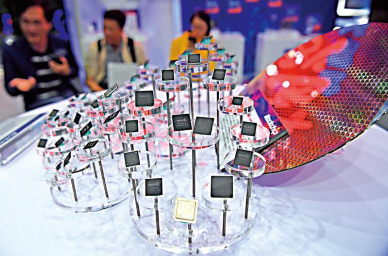 全球芯片短缺 半导体股炒起