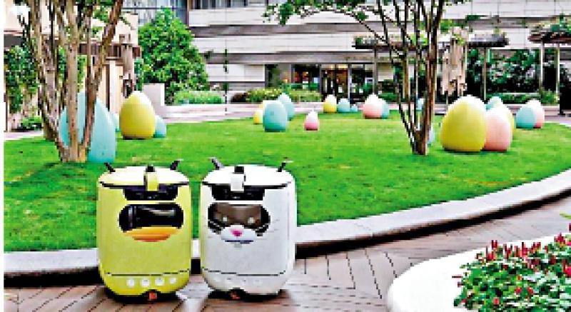 ?中环絮语/K11节日推广 机械人变复活兔