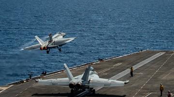 美军证实罗斯福号航舰打击群入南海 或为牵制中国