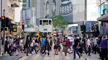 一季度香港消费者信心下跌续垫底