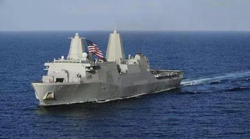 外交部:美舰挑衅搅局 威胁台海和平稳定