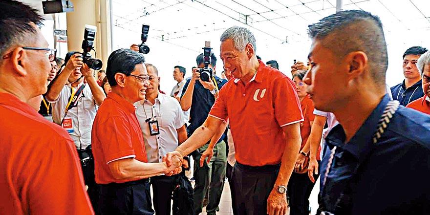 新加坡副总理请辞打乱李显龙交棒 原定明年卸任总理