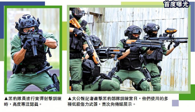 ?训练直击/多种低杀伤力武器首度曝光