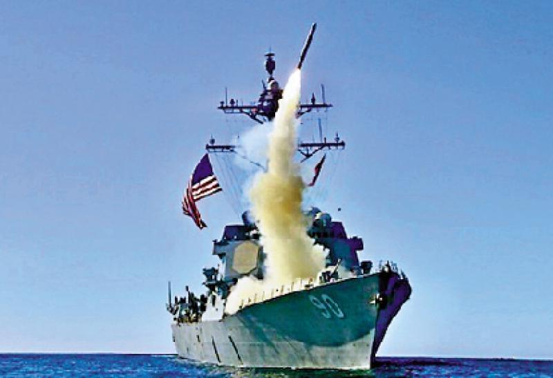 """?外军动向/美海军装备反航母""""战斧"""""""