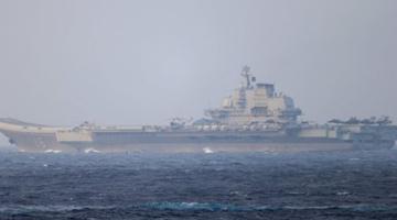 中国海军顶配组合!我航母与美舰菲律宾海狭路相逢