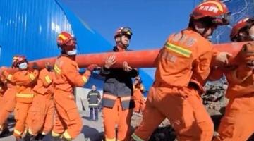 新疆煤矿事故救援:打孔注浆堵水工作启动