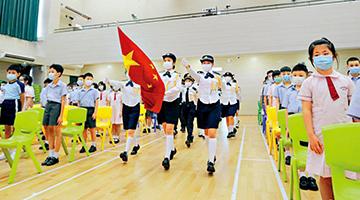 香港市民经历黑暴祸害 国民身份认同感增