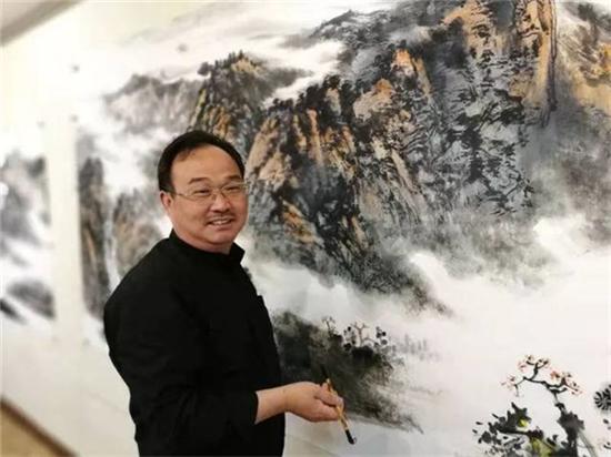 山水情深融筆墨——著名山水畫家杜云峰