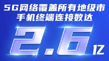 工信部:中国建成全球规模最大的5G移动网络