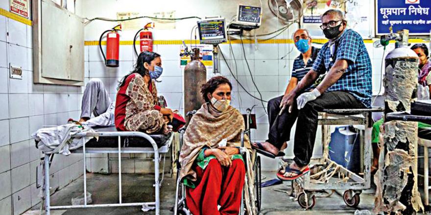 五天超过百万人确诊新德里封城 印度疫情失控