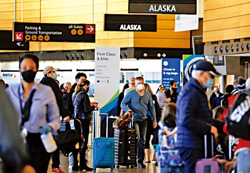 美扩最高旅遊警示 全球80%国家在列