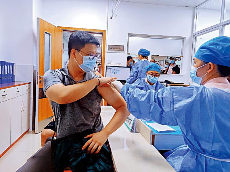 ?臺胞接種疫苗 盼兩岸交流恢復正常