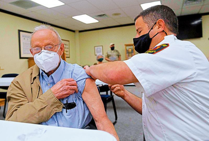 ?一職員無接種 美護老院46人染疫