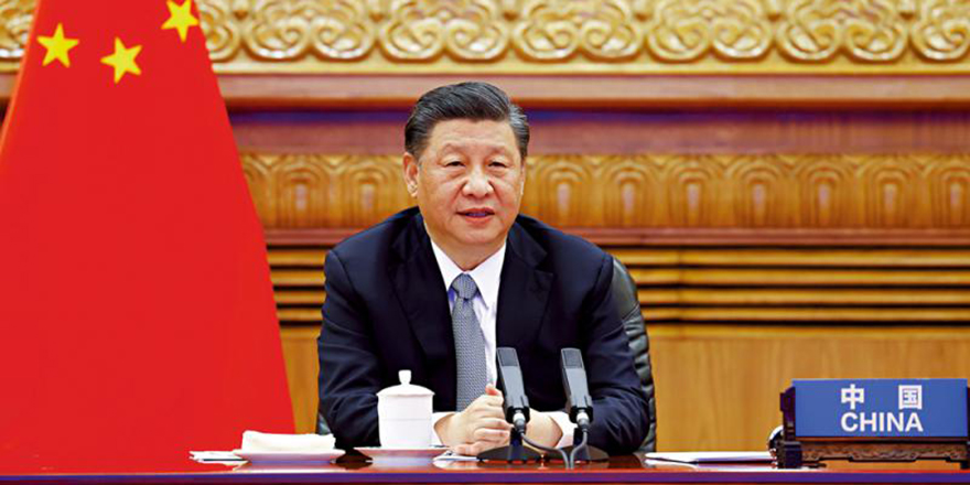习近平:中国碳中和用时远短于发达国