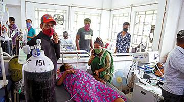 印度疫情形势严峻 中国驻印使领馆暂时关闭领事服务接待厅