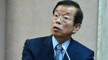 """台""""驻日代表""""谢长廷为日本排核废水辩护 国民党愤怒举报"""